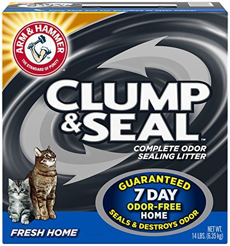 Clump and Seal Cat Litter – $10.50