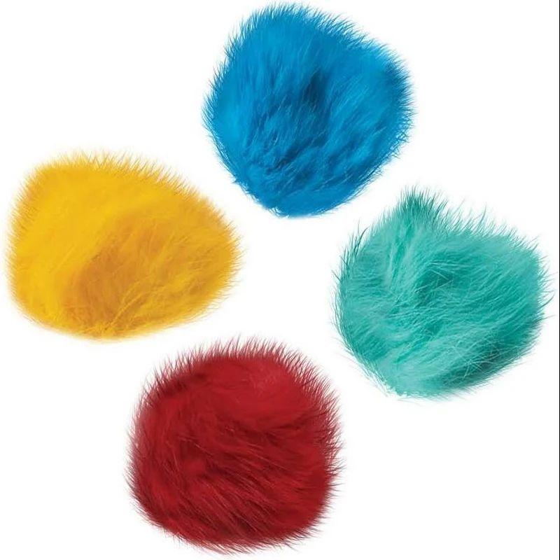 Zanies Cat Toy Fur Balls – $1/each